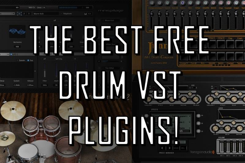 Top 19 Best Free Drum VSTs Review 2021